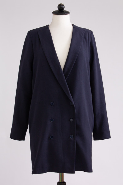 Mörkblå blazer dress, Rodebjer, stl XS