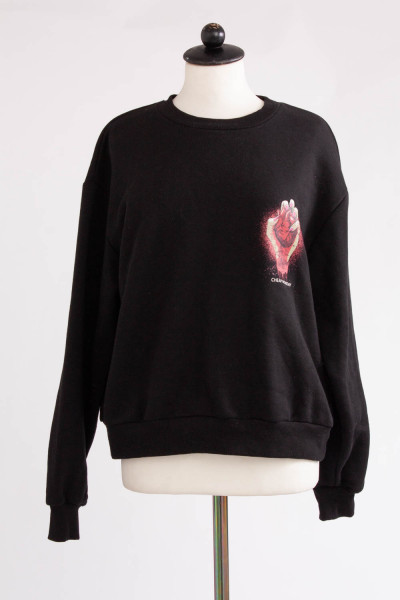 Cheap Monday, Sweater med tryck, stl M