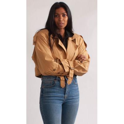 Kort trench coat, REMAKE, onesize