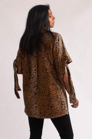 Leopardskjorta, Hope, stl 38/48