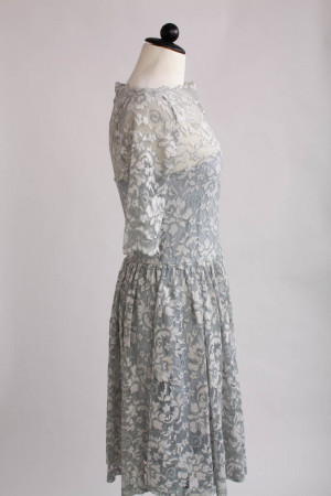 GANNI, spetsklänning, stl XS/S