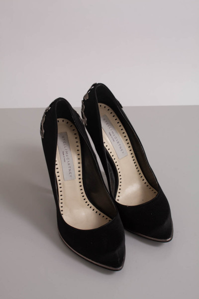 Stella McCartney, Svarta pumps, stl 37