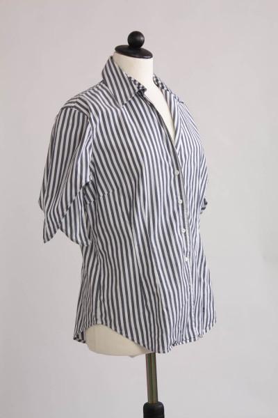 Gant, randig bomullsskjorta, stl 42