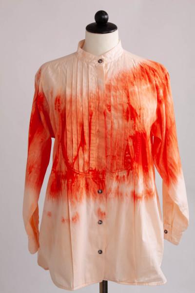 REMAKE, orangefärgad skjorta, onesize
