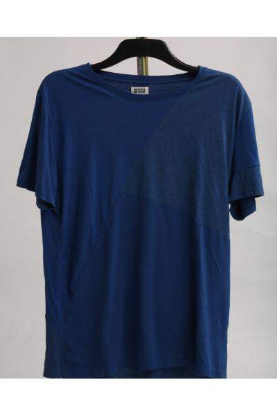 Weekday, blå t-shirt, stl M