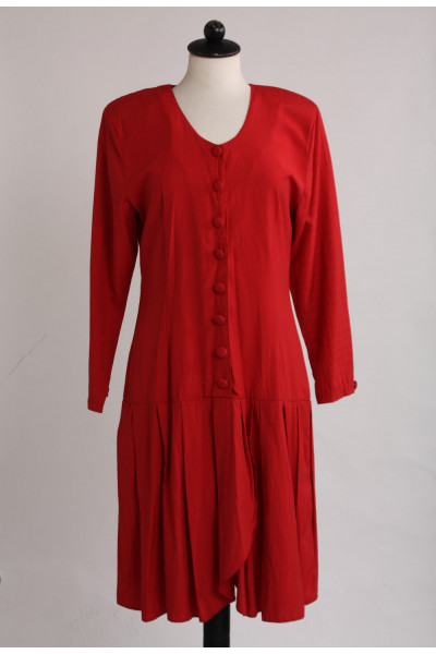 Vintageklänning, 90-talsvibe, stl M