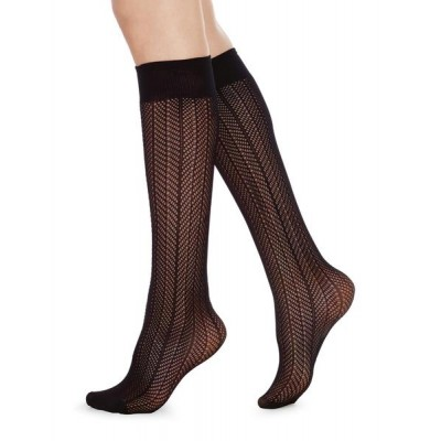 Astrid fishnet Micro, knee-high - One size