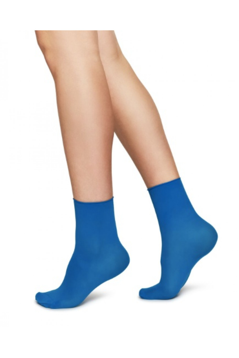 Judith Premium socks - 2-pack - Sharp blue,  Swedish Stockings
