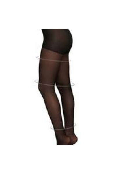 Irma support 30 den - black,  Swedish Stockings