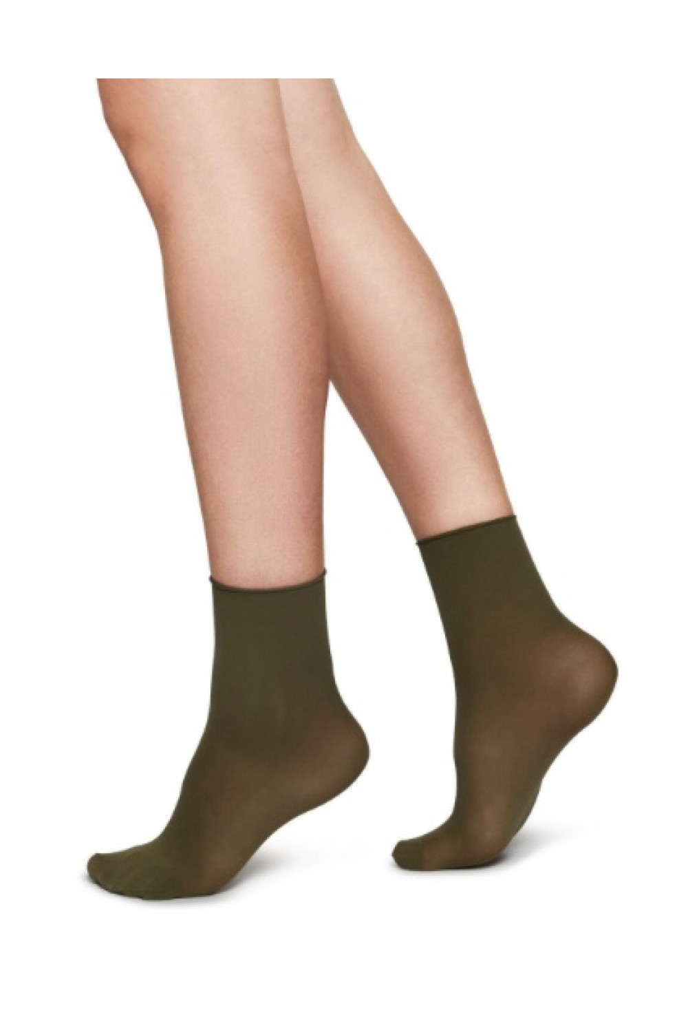 Judith Premium socks - 2-pack - Khaki,  Swedish Stockings
