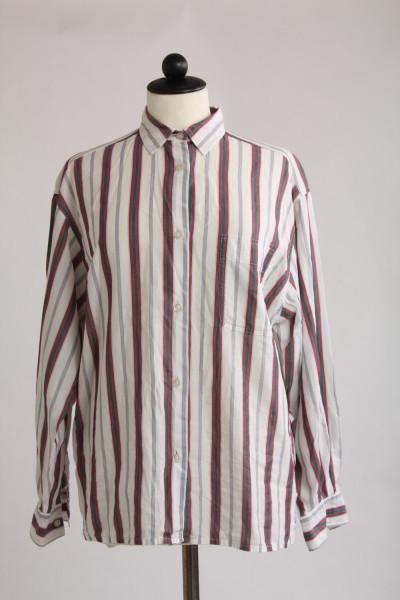 Vintage, randig skjorta, stl S
