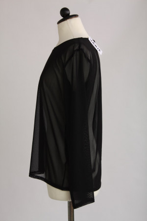 Monki, transparent topp, stl M