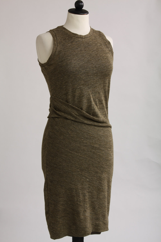 By Malene Birger, ärmlös klänning i linne, stl XS