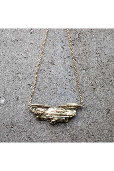 Halsband - BARK - lång kedja, Johanna N