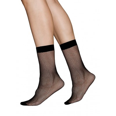 Vera net Ankle sock (svart) strumpbyxor, Swedish Stockings