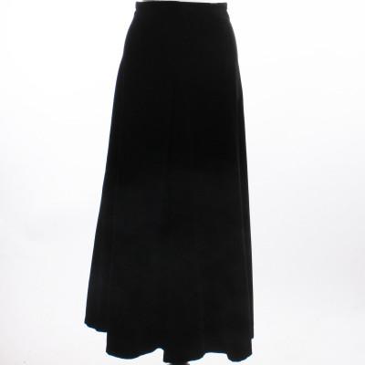 Sammetskjol, Vintage, stl 36